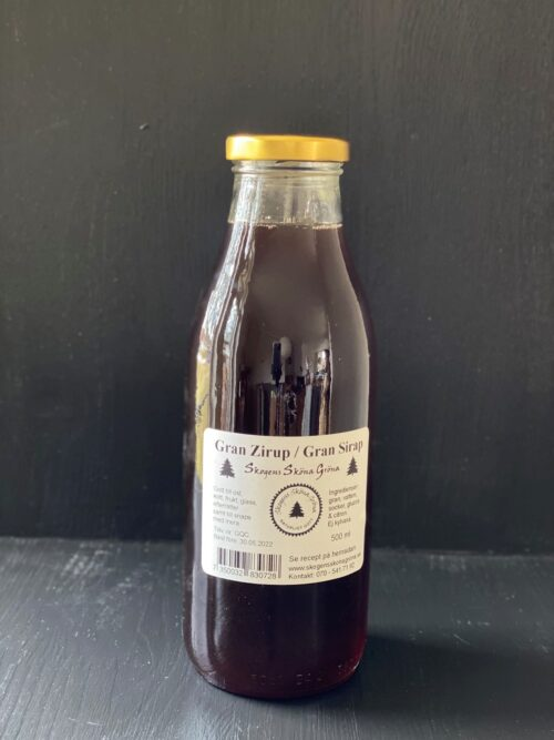 Gran Zirup 500 ml största flaskan